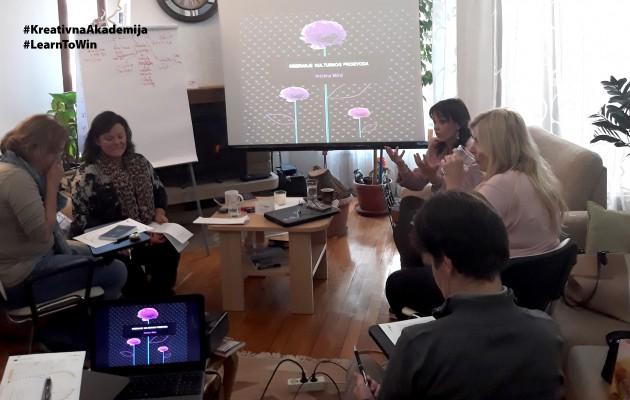 """Održali smo naš seminar """"Kreiranje i plasman kulturnog proizvoda""""!!!"""