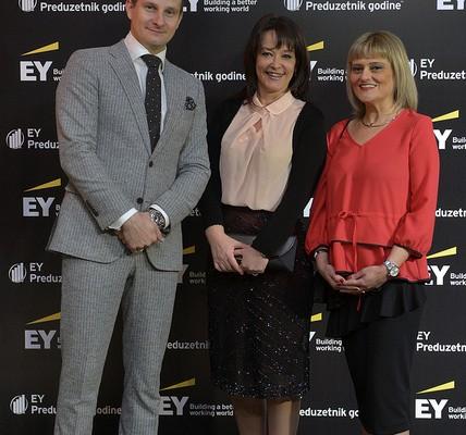 Dodeljeno 6. EY priznanje za preduzetnika godine